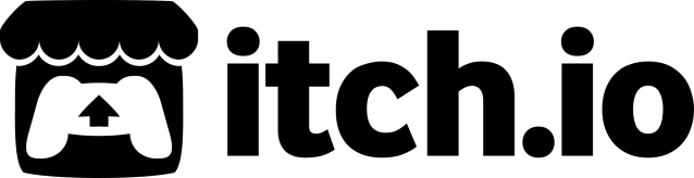 This image has an empty alt attribute; its file name is itchio-logo-black.png